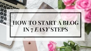 7 EASY STEPS TO STARTING A BLOG IN 2016 | #CODhustle | Ciara O Doherty