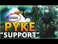 PYKE THE NEW BROKEN ASSASSIN... Support? - New Champion Pyke Gameplay - League of Legends