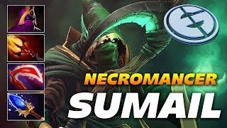 Sumail Master Necromancer | Dota 2 Pro Gameplay