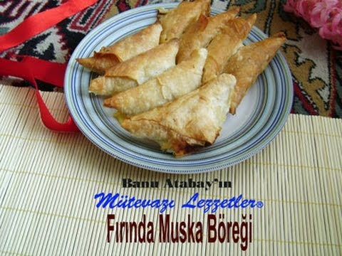 Fırında muska böreği tarifi video resmi