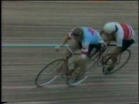 Round 3 1982 World Pro Sprint Final Nakano v Singleton