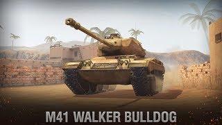 Качаю новые лёгкие танки США {M41 Bulldog} [WoT BlitZ]
