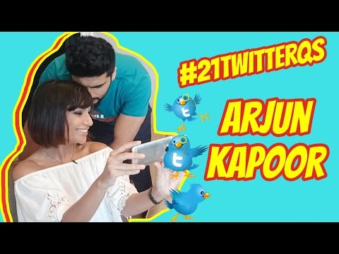Arjun Kapoor Answers YOUR 21 Twitter Questions!