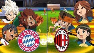 Inazuma Eleven UCL ~ Bayern Muenchen vs AC Milan ※Pokemon Anchor※