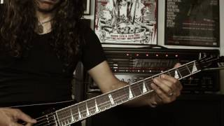 EXPULSION Matt Olivo - Altar of Slaughter (Guitar playthrough)