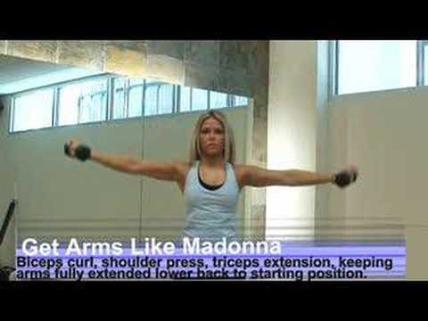 arms out for exercise