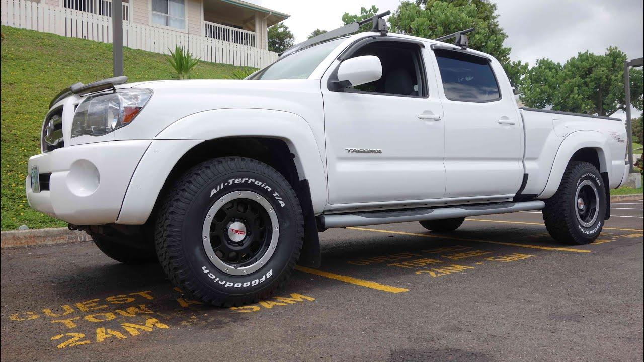 Toyota Tacoma With Baja Wheels