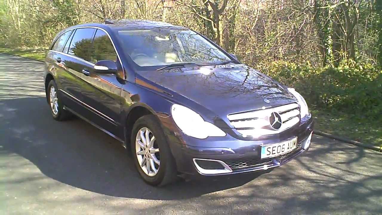 2006 mercedes r320 cdi estate diesel automatic blue 4matic for Mercedes benz r320 cdi
