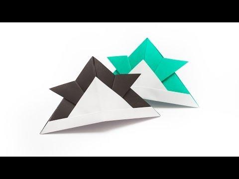 การพับกระดาษเป็นหมวกซามูไร O