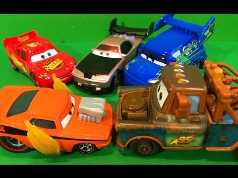 Тачки Маквин и Мэтр против Сморкача Мультик про Машинки для Детей Cars McQueen