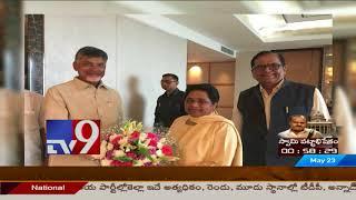 Kumaraswamy Swearing In - Chandrababu lobbies for special status with national leaders