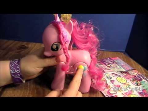 Walkin' Talkin' Pinkie Pie NEW 2013 My Little Pony FiM Review & Unboxing! by Bin's Toy Bin
