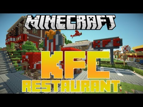 MineCraft PS3 Edition Gameplay| KFC Restaurant Hunger Games Multiplayer SEED| Playstation 3