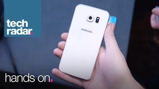 ලොවම බලාසිටි Samsung Galaxy S6 පෙරළිකාර උපාංග සමඟින් කරළියට පැමිණෙයි..!!  Samsung Galaxy S6 - Hands