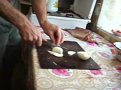 Как приготовить рыбу хе - видео