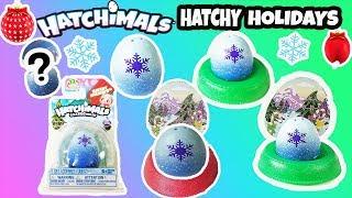 Hatchimals CollEGGtibles Unboxing Hatchy Holidays Collection+Hatchimals Hatching+Hatchimals Holiday.