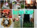Tour por mi apartamento decoración navideñacomo decore mi hogar para navidad Home tour