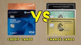 Credit Cards VS Charge Cards: Pros and cons
