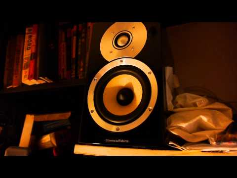 B&W CM1 speakers Sound Test