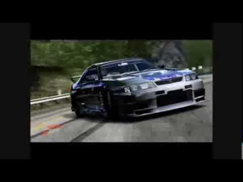 forza drifting  prettly lights - pink floyd time