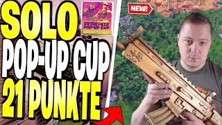 📌😰 SOLO POP-UP CUP schwitzöön?! | Fortnite Battle Royale