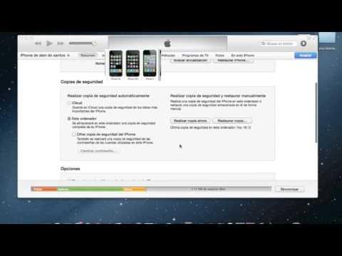 como realizar y restaurar una copia de seguridad iphone ipod o ipad