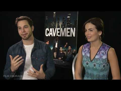 CAVEMEN Movie - Full interview with Camilla Belle and Skylar Astin