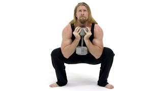 How To Perform Goblet Squats - Exercise Tutorial