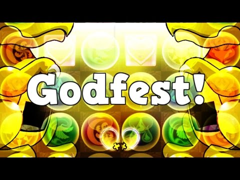 GODFEST PULLS! — Puzzle and Dragons — パズドラ