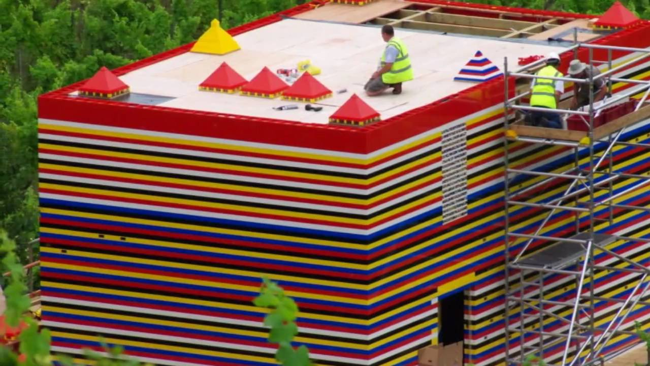 Lego House Update 09 09 09 Youtube