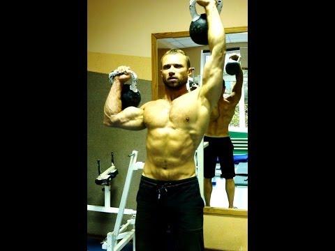 Упражнения с гирями. ГИРИ для силы и массы!