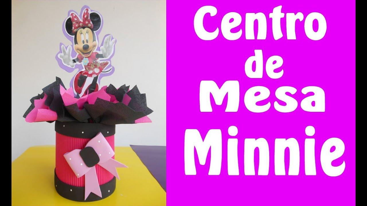Centro de mesa minnie mouse youtube - Mesa de centro plegable ...