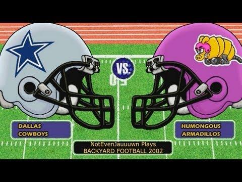 backyard football 2002 game 2 dallas cowboys vs humongous