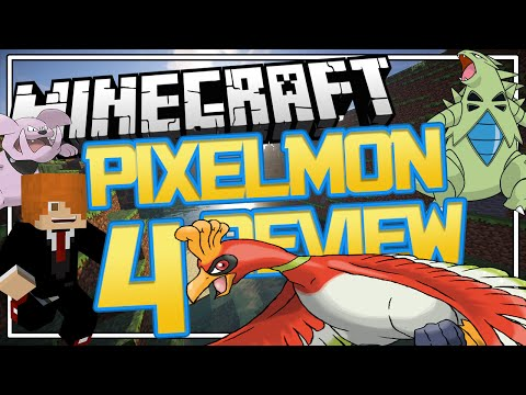 REVIEW CON FOLA Y HO-OH   PIXELMON 4.0.3 MINECRAFT 1.8
