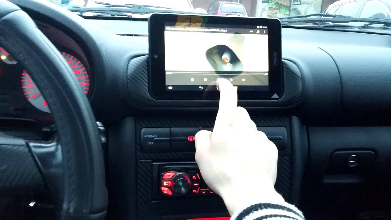 Seat leon tablet youtube for Mueble 2 din seat leon 1m