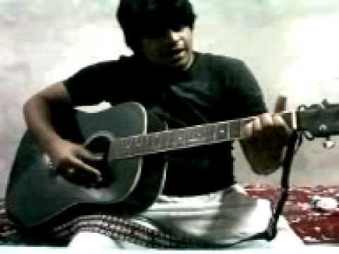 dilbar mere kab tak mujhe on guitar