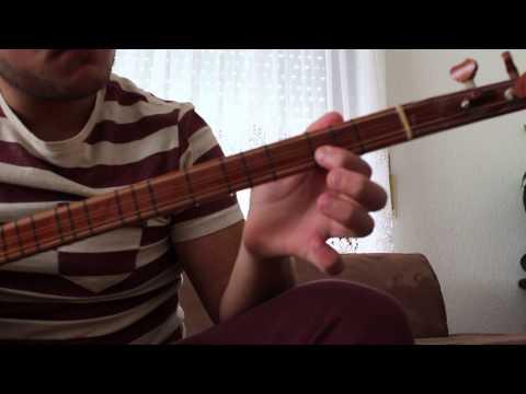 Tetris auf Saz/baglama Spielen Lernen