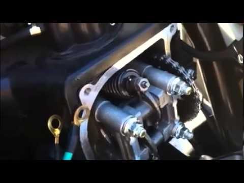 scooter valve adjstment
