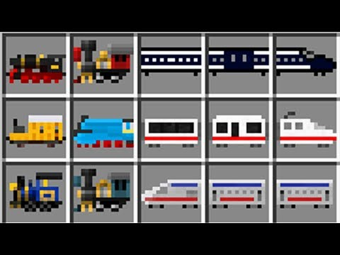 Minecraft TRAINCRAFT MOD