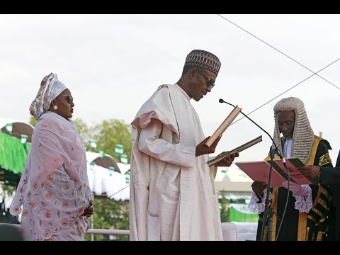 Nigeria: Muhammadu Buhari sworn in as President amid crippled economy
