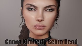 Catwa Kimberly Bento Mesh Head in Second Life