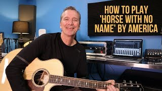 Download Lagu How to play 'Horse With No Name' by 'America' Gratis STAFABAND