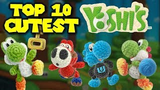 Top 10 CUTEST Yarn Yoshis