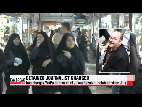 Tehran charges WaPo journalist of unspecified crimes   이란 억류 WP 특파원 기소... 미국, 변호