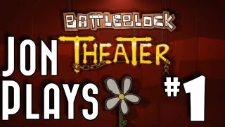 Battleblock Theater Gameplay Walkthrough part 1 - Intro, Hold On to Your Butts!