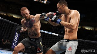 Conor Mcgregor knockouts - EA SPORTS UFC 3