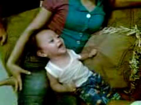 Laughing Baby Prince Justine Bargado, video