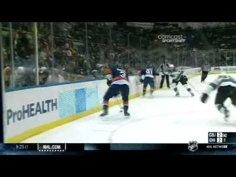 Blown Islanders' Delay Of Game Penalty In OT Leads To Sharks Win (video)
