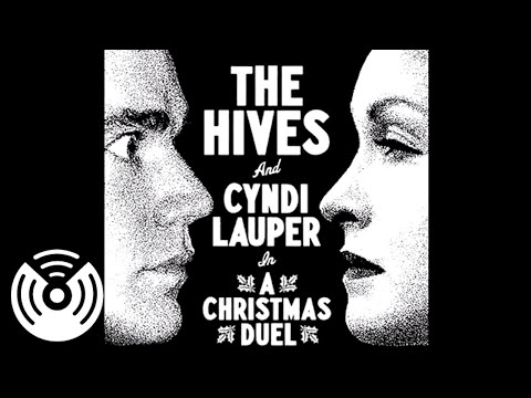 The Hives &amp; Cyndi Lauper In A Christmas Duel