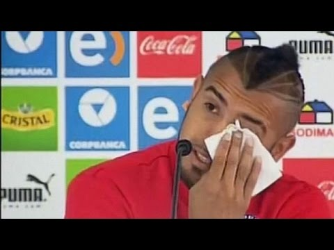 Arturo Vidal Tears Up As He Apologises For DUI Crash